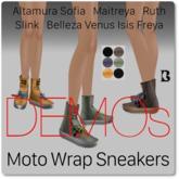 Blackburns Moto Wrap Sneakers DEMO
