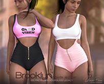 DarkFire Brooklyn Shorts w/Top-FatPack