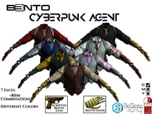 (ADD) B3NTO - CyberPunk Agent Suit