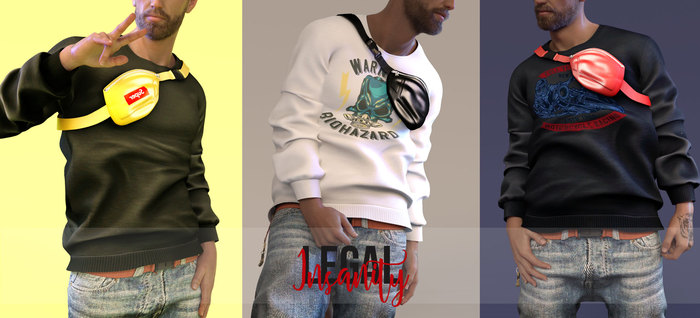 Legal Insanity - Nolan sweatshirts DEMO
