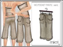 MIEL MO PANTS - sand