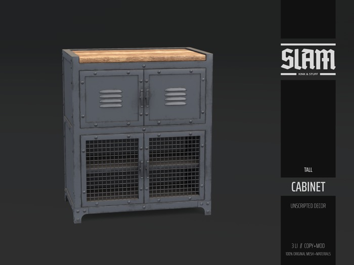 SLAM // cabinet // tall