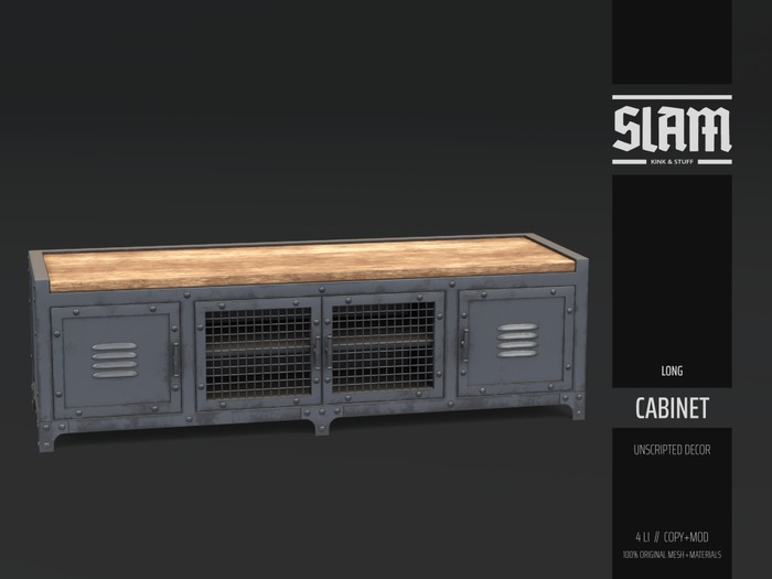 SLAM // cabinet // long (box hud)