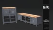 SLAM // cabinet // tall+long (box hud)