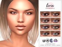 LIVIA Pheya Eyes [Genus / Catwa / AK Deluxe / Omega]