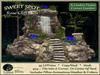 Rose Cliff Falls SWEET SPOT - Corner Garden - Waterfall Garden Arrangement