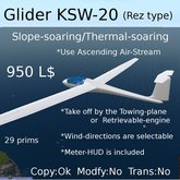 Glider KSW20 v20 (Rez type)