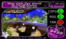 * New Top Club * SEA WORLD * Fully Equipped *