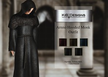 "KiB Designs - Arnno Hooded Monk Outfit Unpacker Box ""Wear"""