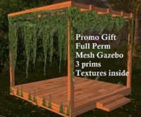 Promo Gift Mesh Gazebo