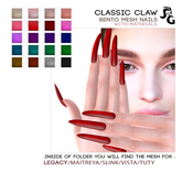 ::SG:: CLAW Mesh Nails Classic BENTO (Jul 19)
