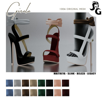 ::SG:: Gisele Shoes - BELLEZA