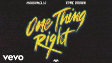 Marshmello, Kane Brown~ One Thing Right feat. Kane Brown {Full song + Dance}