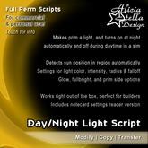 Day/Night Light Script - Full Perm Script