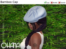 Ohana Bamboo Cap Serenity Blue (WEAR TO UNPACK)