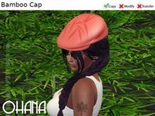 Ohana Bamboo Cap Coral (WEAR TO UNPACK)