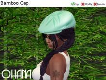 Ohana Bamboo Cap Aquamarine (WEAR TO UNPACK)