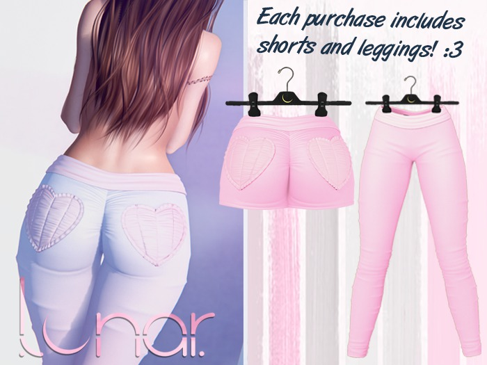 Lunar - Nini Shorts & Leggings - Bubblegum Pink