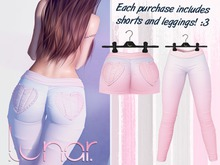 Lunar - Nini Shorts & Leggings - Dawn