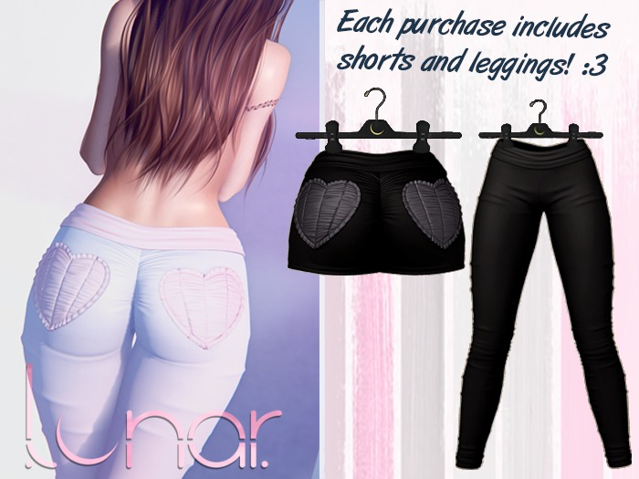 Lunar - Nini Shorts & Leggings - Black