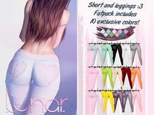 Lunar - Nini Shorts & Leggings - FATPACK