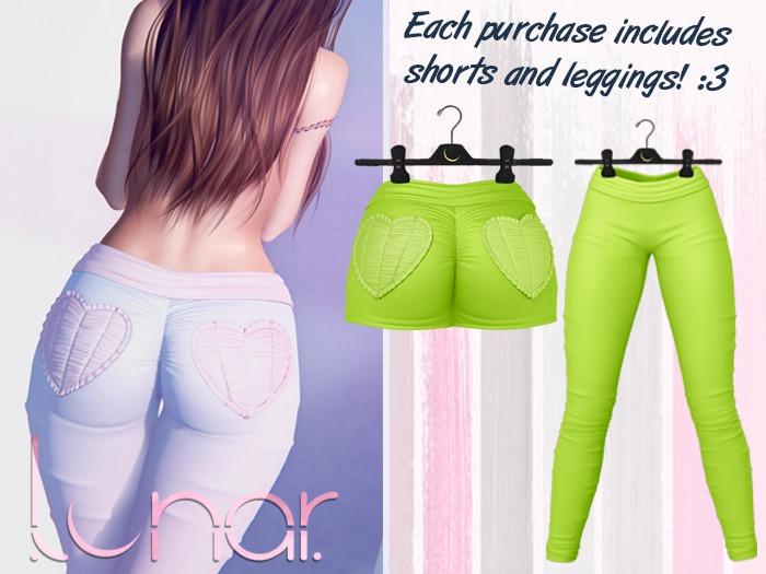 Lunar - Nini Shorts & Leggings - Hills Green