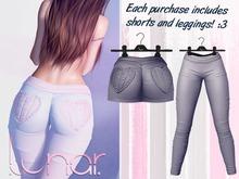 Lunar - Nini Shorts & Leggings - Midnight