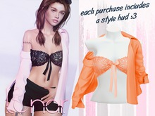 Lunar - Nini Top & Shirt - Apricot (Boxed)