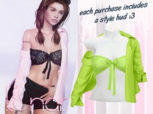 Lunar - Nini Top & Shirt - Hills Green (Boxed)
