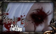 REPULSE - Bloody Eye Face Tattoo
