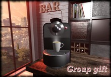 USDesigns Heritage Coffee machine and bar sign Group Gift