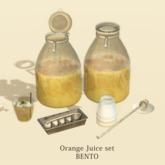 [Cinoe] Orange juice set (add)