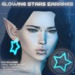 Astara - Glowing Stars Earrings