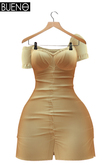 BUENO-Joy Dress -Cream - Maitreya & Slink HG