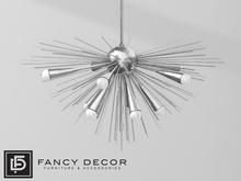 Fancy Decor: Solis Chandelier (silver)