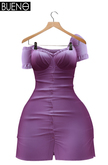 BUENO-Joy Dress -Purple - Maitreya & Slink HG