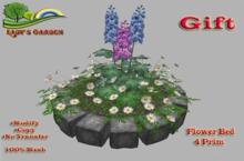 Lady's Garden - Flower Bed 4 Prim (Gift)