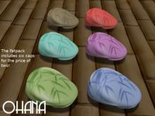Ohana Bamboo Cap Fatpack (WEAR TO UNPACK)