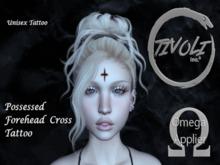 - Tivoli Inc - Possessed Forehead Cross Tattoo Omega/BOM [ Unisex ]
