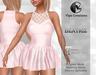 Beatriz dress satin 1