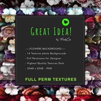:::GREAT IDEA:::Flowers Background