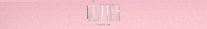 Glitter logo marketplace