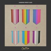 ChiMia:: Hanging Pride Flags