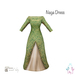 [ity.] China // Naga Dress Green