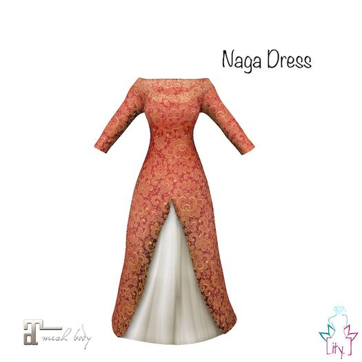 [ity.] China // Naga Dress Red
