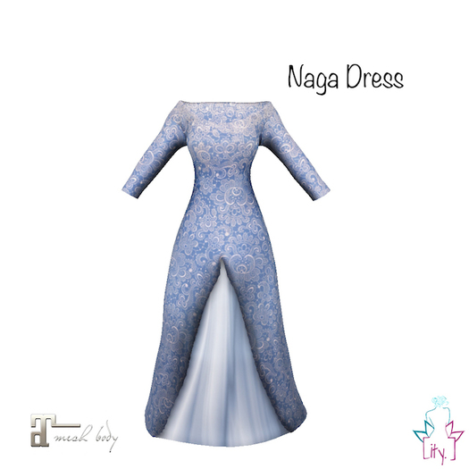 [ity.] China // Naga Dress Blue