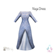 ity.  china naga dress blue