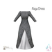 [ity.] China // Naga Dress Black
