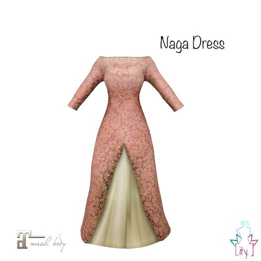 [ity.] China // Naga Dress Peach