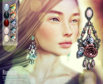 :: PM :: Romanza Earrings -all colors- 50% OFF